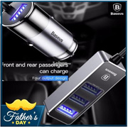 Consumer Electronics Mini Car Usb Chargers With Led Soft Light 5v 2.4a Quick Charge Mobile Phone/tablet/driving Recorder/game Machine Fast Charging Delicacies Loved By All Chargers