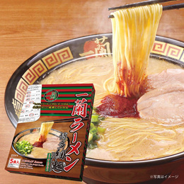 이치란 라멘 1박스 (5개입) / JAPAN ICHIRAN Ramen Straight thin noodle box (5 packs)