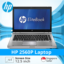 Refurbished HP 2560p 12.5 inch Laptop - i5 / 4GB RAM / 250GB HDD/Jap KB/Windows 7/ 1 month warranty