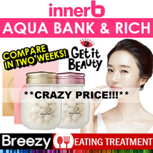 FREE SHIPPING [innerB] Aqua Bank/ Aqua rich / KOREA NO1 COLLAGEN ITEMS/U.P $67