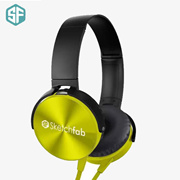 SketchFAb Xb 450 Headset Compatible For All Smart Phones(Yellow)