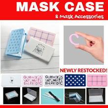 🏆Qoo10 Best Seller🏆 ✔️Mask Keeper ✔️Mask Case with designs ✔️Mask Box S/M/XL Size ✔️Mask Extender