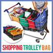 SHOPPING TROLLEY BAG ONSALE! HARGA TERMURAH DIJAMIN! HIGH QUALITY WITH SUPER LOW PRICE!(Random Colours)