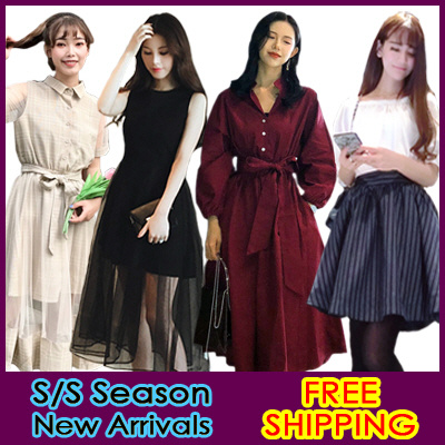 08bab79acb514 STYLE ONLY SHOP◐2018 New Arrivals*Korean Fashion◑Free Shipping⊙Dress/One  Piece/Skirt/loose fit/casual/mini/Formal