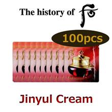 The history of Whoo Jinyulhayng Jinyul Cream 1mlx100pcs (Cosmetic Sample)