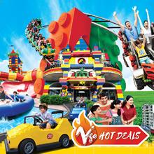 Johor: LEGOLAND 1-Day Combo Ticket (Theme Park+Water Park)