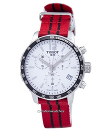 [CreationWatches] Tissot Quickster NBA Chicago Bulls T095.417.17.037.04 T0954171703704 Mens Watch