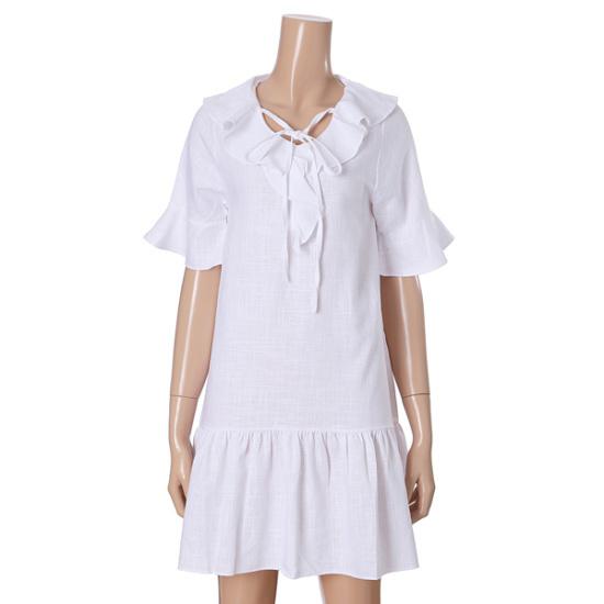 オチョクヨリヨリワンピース71552682 面ワンピース/ 韓国ファッション