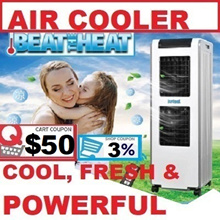 MBC1800/MBC2800 DR COOL 24Ltr/30LTR EVAPORATIVE Honeycomb AIR COOLER STRONG FAN COOL WIND 1800m3/Hr