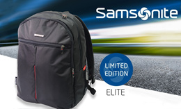 Brand New Premium Original Samsonite Elite Laptop Backpack. Local SG Stock and warranty !!