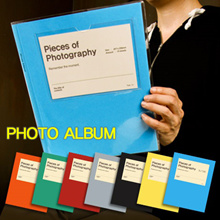DIY Photo Album/Scrapbook/Polarid film album/Photobook/Guestbook/Birthday/Cny