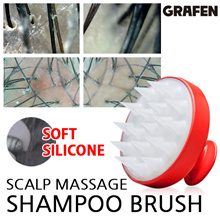 [GRAFEN] Silicone shampoo brush / Edge finger / Korean SNS hit item / Solve scalp trouble