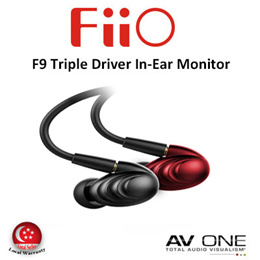 [Fiio] F9 Triple Driver Hybird In-Ear Monitor / 1 Year Warranty