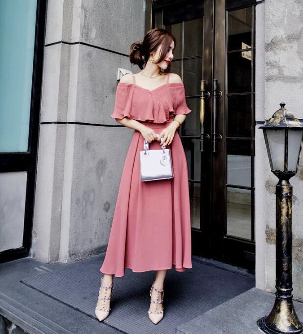 [55555SHOP]二次会ドレス  フレアミニドレス キャバドレス セクシータイトドレスワンピース