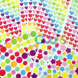 Colourful Stickers l Circle l Heart l Star Shape l Goodie Bag l Gift l Happy Teachers Day