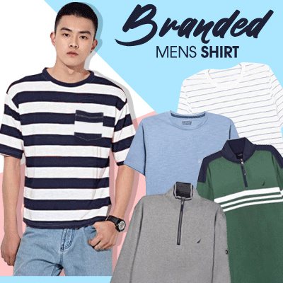 New Collection Mens Outwear / Casual T-shirts / Mens T-Shirts / Branded T-Shirts Deals for only Rp45.000 instead of Rp50.000
