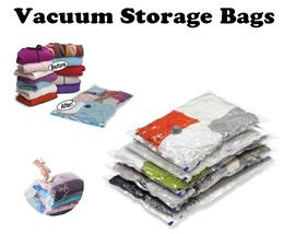 *10 PCS* PACK Vacuum Storage Bags Vacuum Compression Storage Bag/TRAVEL COMPRESSION BAG! Vacuum Bag