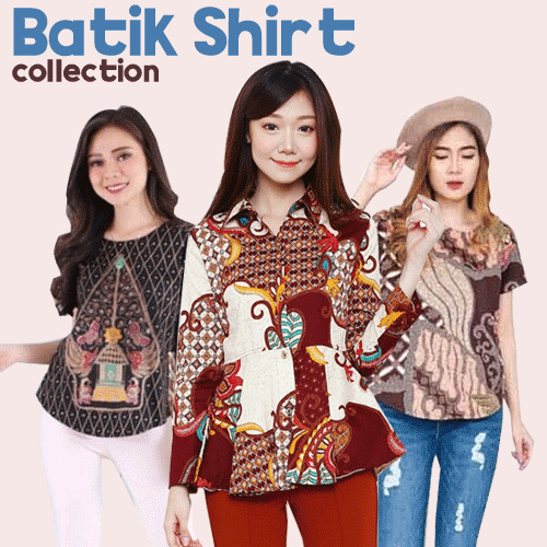 [FREE SHIPPING] Evercloth Batik Collection Blouse / Dress / Cullote / Skirt / Jumpsuit / Cheongsam Deals for only Rp65.000 instead of Rp90.278