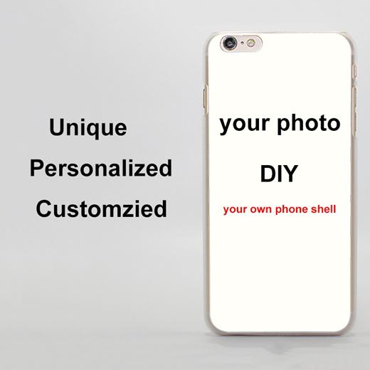 Qoo10 Customized Diy Phone Case Printed Hard Clear Cover Case
