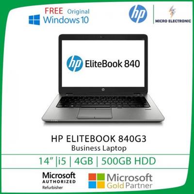Hp Elitebook 840 G3 Business Laptop 14