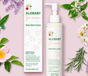 ALOBABY for MOM【Official】Body Mark Cream 200ml [Made-in-Japan/Organic/Stretch Marks/Moisturizing]
