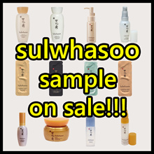 Korea Cosmetic Sample ★ special price ★ Amore pacific / SulWhaSoo / HERA / SUM 37 / THEFACESHOP / Whoo / OHUI / WOMAN / skin care / beauty