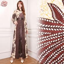 Gamis Maxi Dress Latina Longdress Terusan Batik Wanita