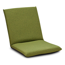 [LAZY SOFA] FOLDABLE FLOOR CHAIR ADJUSTABLE RELAXING LAZY SOFA SEAT CUSHION LOUNGER [GREEN]