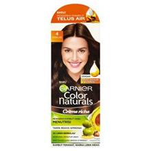 [ Halal Certification ] Garnier Color Naturals Creame Riche 4 Brown Hair Color