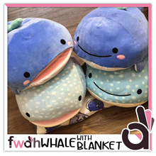 ★★ Whale Plush with Blanket ★★ Cute Whale Softtoy ★★