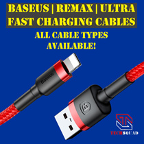 ★PREMIUM QUALITY★FAST CHARGING★/TYPE-C/3-IN-1/LIGHTNING/MICRO USB CABLES /IPHONE CABLES