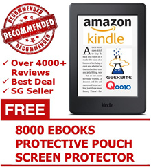 Amazon Kindle Paperwhite $189! 8th Gen $119! Best Qoo10 Kindle Deal! Many Freebies! 2 Days Delivery!