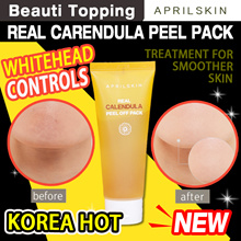 [APRILSKIN] April Skin Real Calendula Peel Off Pack - Strong Sebum Absorption And Skin Waste Removal
