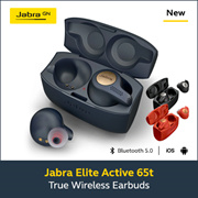 [Jabra] Jabra Elite Active 65T Bluetooth Earphones (Copper Blue) 2 Year Local Warranty