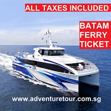 Batam Two-Way 2-Way Ferry Ticket Inclusive of all Taxes *JUNE HOLIDAY Limited Time Offer*