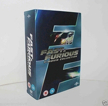 Fast and the Furious Films 1 - 7 Complete Collection DVD Boxset Boxed Set New