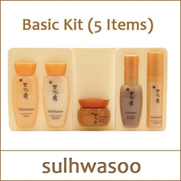 [Sulwhasoo] (tt) Basic Kit (5 Items) / First Care Activating Serum / Essential Balancing Water