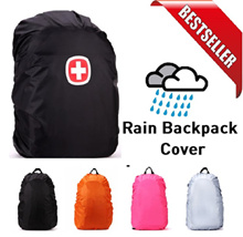 ★Waterproof Bag Cover 35L/45L/60L/70L/80L★Rain Cover★Rain Wear Backpack★Umbrella★Rain Coat★Schoolbag