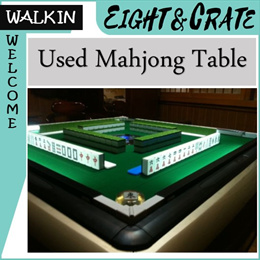 [Used Mahjong Table] Auto Mahjong table with 2 tile set  Viewing available