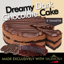 ★ Dreamy Dark Chocolate Cake ★ Ingredients From Europe and Valrhona ® Couverture // FREE DELIVERY //