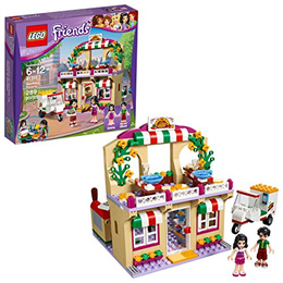 L.E.G.O Friends Heartlake Pizzeria 41311 Toy for 6-12-Year-Olds