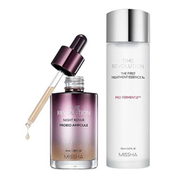 (MISSHA) Time Revolution The First Treatment Essence RX / Night Repair Probio Ampoule (4Th Gen)