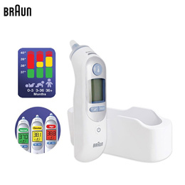 Braun ThermoScan 7 IRT6520 Digital Ear Thermometer / Age Precision Technology / 21 Disposable Filter