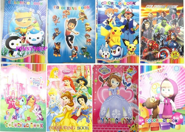 Colouring Book/30pcs Jigsaw Puzzles/Notepad/magnet/3D sticker/Notebook/educational toys learn toys Deals for only S$1 instead of S$0
