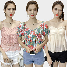 16/6NEW Korean dresses/off shoulder  tops/knitt T-shirts/Sling shirt/Strapless/Cheapest