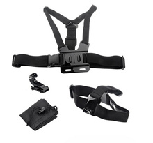 ST-141 Chest Harness  Head Strap Mount J Hook Mount For Hero HD 2 3 3+ Go Pro Chesty Plus  Gopro Camera Accessory