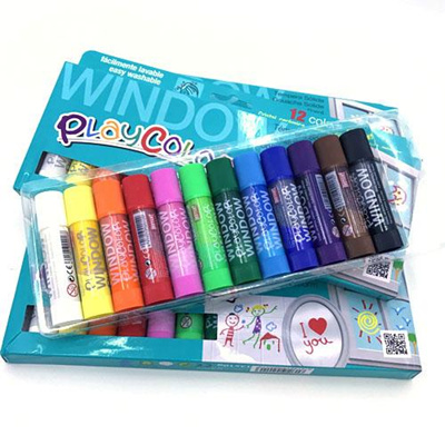 Mirror Art ** PLAYCOLOR Window Paint Sticks ** Pack Of 12 ** Glass