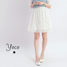 YOCO - Laced Skirt-171598