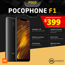 [New] Xiaomi POCOPHONE F1 | Qualcomm Snapdragon 845 | LiquidCool Tech | 4000mAh | AI Dual Camera