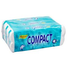 Cutie Compact Toilet Rolls 10s (Bundle 3 units) [ TOTAL 30 Rolls ] PLUS FREE TISSUE
